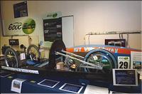 Le véhicule tout électrique sur le stand de l'AD3Eau Concordat GENELEC